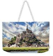 Mont Saint-michel Weekender Tote Bag