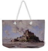 Mont Saint Michel Weekender Tote Bag