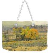 Montana Autumn Reverie Weekender Tote Bag by Cris Fulton