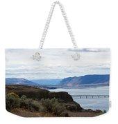Montana Bridge Weekender Tote Bag