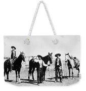 Montana: Cowboys, C1895 Weekender Tote Bag
