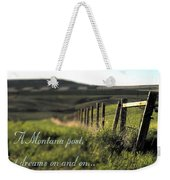 Montana Dream Weekender Tote Bag