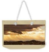 Montana Gold Weekender Tote Bag