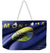 Montana State Flag Weekender Tote Bag