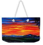 Montana Sunset Colors                     72 Weekender Tote Bag