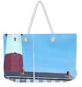 Montauk Point Light  Weekender Tote Bag