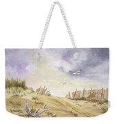 Montauk Sand Dune Weekender Tote Bag