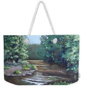 Montauk State Park In Missouri, Oil Weekender Tote Bag