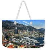 Monte Carlo Harbor View Weekender Tote Bag