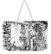 Montefioralle Tuscany Weekender Tote Bag