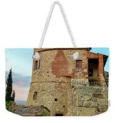 Montefollonico Stone Tower And Fortress Weekender Tote Bag