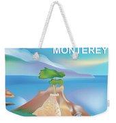 Monterey Bay California Horizontal Scene Weekender Tote Bag
