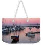 Monterey Bay Harbor Weekender Tote Bag