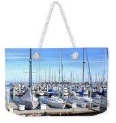 Monterey Harbor California Weekender Tote Bag