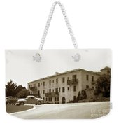Monterey Hospital Was Built In 1930 At 576 Hartnell St, Monterey Weekender Tote Bag