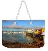 Monterey Wharf Weekender Tote Bag