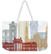 Montevideo Skyline Poster Weekender Tote Bag