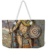 Montezuma II (1480?-1520) Weekender Tote Bag