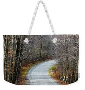 Montgomery Mountain Road Weekender Tote Bag