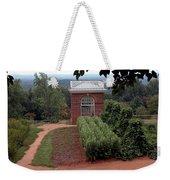 Monticello Vegetable Garden Pavilion Weekender Tote Bag