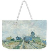 Montmartre   Mills And Vegetable Gardens, Paris Weekender Tote Bag
