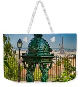 Montmartre Wallace Fountain Weekender Tote Bag