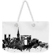 Montpellier Skyline-black Weekender Tote Bag