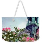 Montreal Bldg Among Flowers Weekender Tote Bag