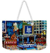 Montreal City Paintings By Streetscene Specialist Carole Spandau  Over 500 Prints Available Weekender Tote Bag
