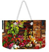 Montreal Cityscenes Homes And Gardens Weekender Tote Bag
