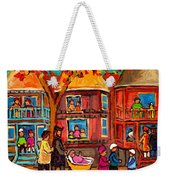 Montreal Early Autumn Weekender Tote Bag