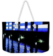 Montreal Port Night Weekender Tote Bag