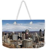 Montreal Seen From Above Weekender Tote Bag