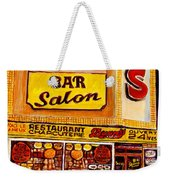 Montreal Smoked Meat Dunns Restaurant Weekender Tote Bag