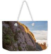 Montserrat Hike Painterly Weekender Tote Bag