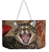 Monty's Yawn Weekender Tote Bag