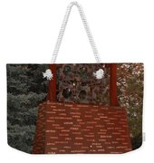 Monument At N M State Captial Weekender Tote Bag