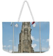 Monument Central Square Quezaltenango Guatemala Weekender Tote Bag