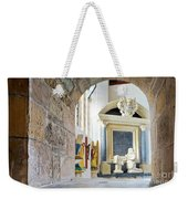 Monument In St Mylor Church Weekender Tote Bag