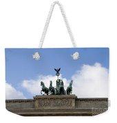 Monument On Brandenburger Tor  Weekender Tote Bag