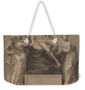 Monument To William Shakespeare Weekender Tote Bag