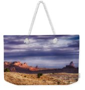 Monument Valley Morning Weekender Tote Bag