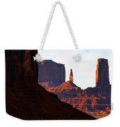 Monument Valley Pano Work D Weekender Tote Bag