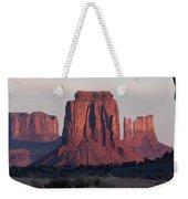 Monument Valley Sunrise 7288 Weekender Tote Bag