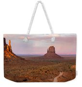 Monument Valley Sunset Panorama Weekender Tote Bag