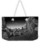 Monument Valley Rock Formations Weekender Tote Bag