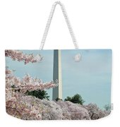 Monumental Cherry Blossoms Weekender Tote Bag