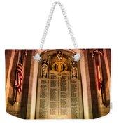 Monumental Weekender Tote Bag