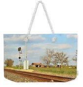 Moo Moo Train Track Weekender Tote Bag