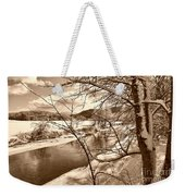 Mood Of Winter Weekender Tote Bag